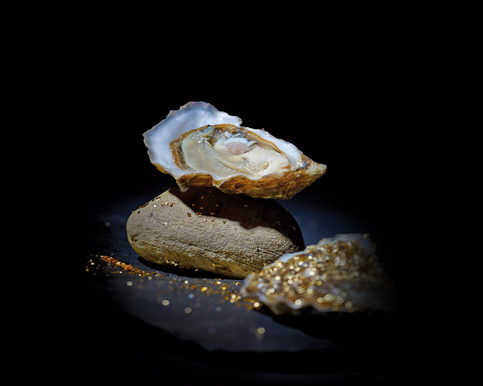 Huitre en OR - Gold Oyster